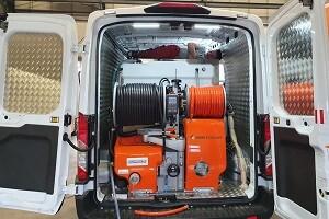 Allessauber Kim Kanalreinigung Ford Transit Notfallwagen Spülwagen 300