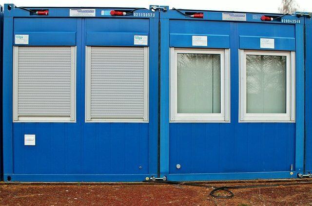 Bauendreinigung putzen Baufeinreinigung Baugrundreinigung Baureinigung Baucontainer WC-Container Toilette Putzfrau ALLESSAUBER