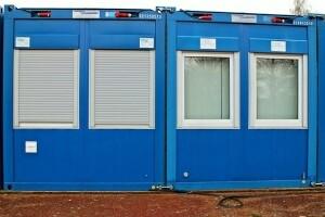 Containerreinigung Baucontainer WC-Container Toilette Putzfrau ALLESSAUBER