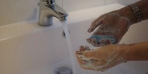 Covid 19 Corona Viren Allessauber Kim Desinfektion Hände waschen