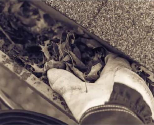 Dachrinnenreinigung Dachrinne reinigen Allessauber Kim Kanalreinigung
