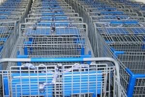 Einkaufswagenreinigung Desinfektion Allessauber Kim Gebäudereinigung Fassadenreinigung