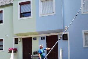 Fassadenreinigung Algenentfernung Algen Schimmel 1230 Wien 2019 Allessauber Kim