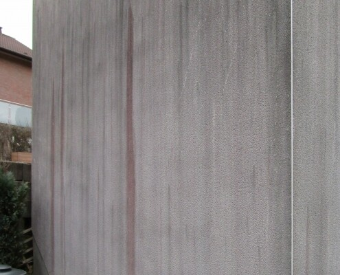 Fassadenreinigung Algenentfernung Schimmel Schmutz Allessauber Kim
