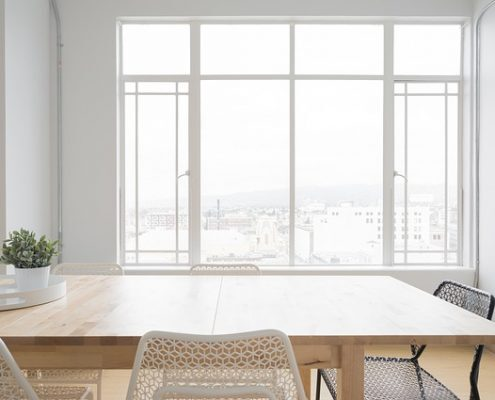 Fensterreinigung Grossraumbüro Haubetreuung Hausbetreuuer Hauswart Gebäudereinigung Grünflächenbetreuung Privatobjekt Allessauber Kim