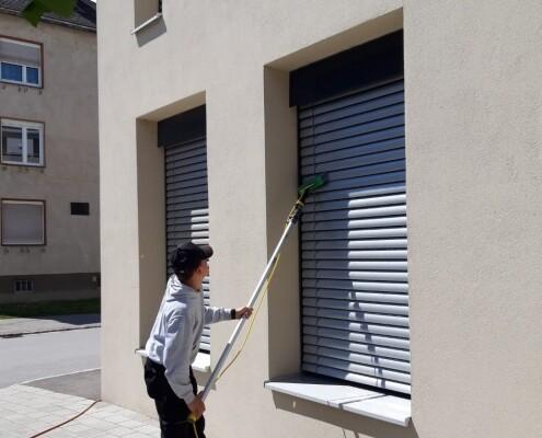 Fensterreinigung Raff Store Allessauber