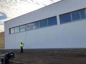 Fensterreinigung Volksschule Gänserndorf Allessauber