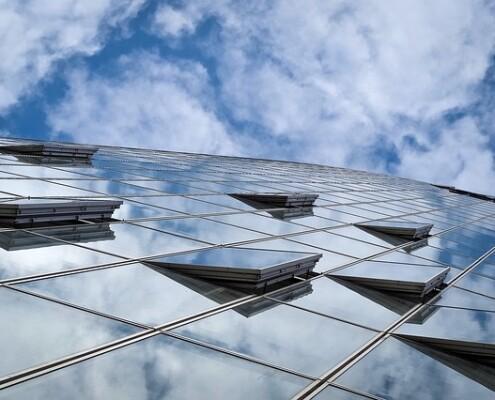 Glasfassadenreinigung Wien Donaustadt Allessauber Kim