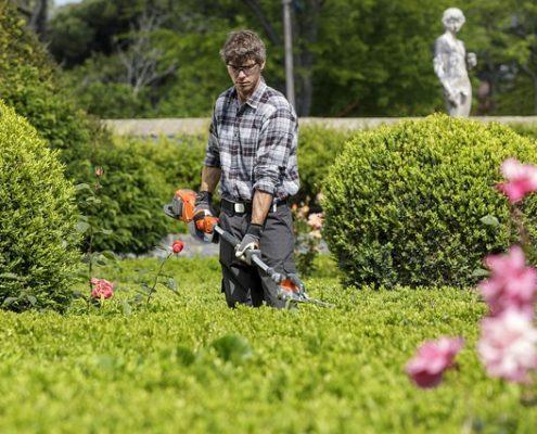 Grünflächenbetreuung Gartenservice Rasen mähen Rasenpflege Vertikutieren Rasen lüften Sähen Hecken schneiden