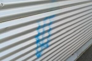 Graffitientfernung FMZ Bruck Allessauber Kim Gebäudereinigung