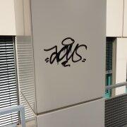 Graffitientfernung Graffti entfernen Wien 1200 Säule Allessauber Kim GmbH