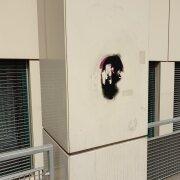 Graffitientfernung Graffti entfernen Wien 1200 Säule Graffitischutz Allessauber Kim GmbH