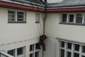 Höhenarbeiter Industriekletter Fassadenkletterer Allessauber Kim