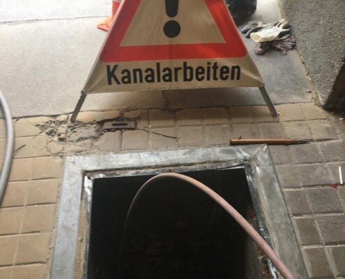 Kanalarbeiten Kanalreinigung Kanalräumung Allessauber Kim