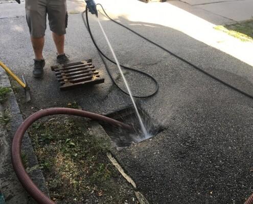 Kanalinspektion Rohrreinigung Kanalreinigung Stetten Allessauber