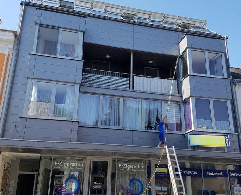 Metallfassadereinigung Glasfassadereinigung Fensterreinigung Osmosegerät