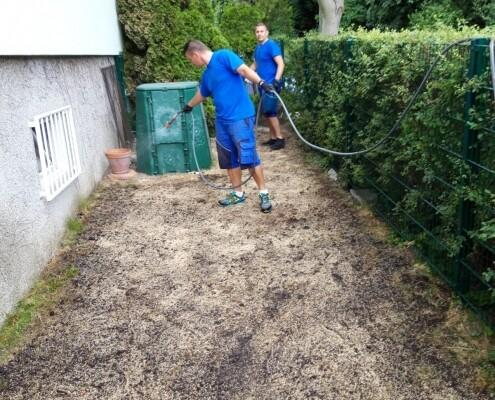 Rasensand Rasen bewässern Wien Allessauber Kim