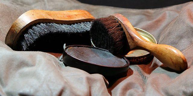 Schuhe professionell putzen Allessauber