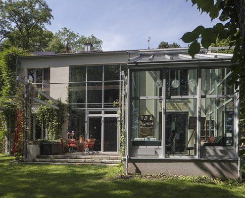 Wintergarten Glas Überdachung Allessauber Kim