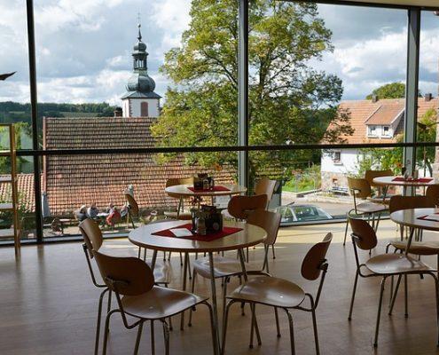 Wintergartenreinigung Glasdachreinigung Restaurant Kantine reinigen Allessauber Kim
