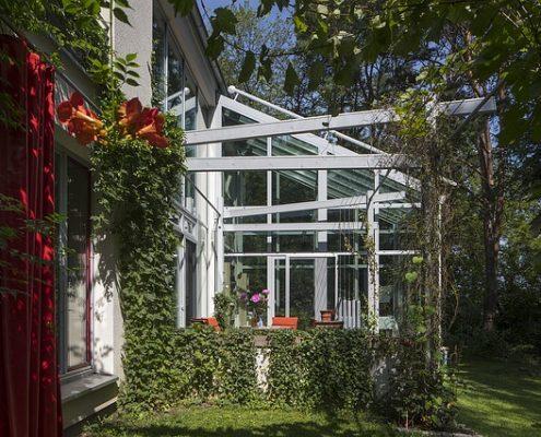 Wintergartenreinigung Glasdachreinnigung Allessauber Kim